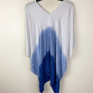 Other - Tie Dye V Neck Bathing Suit Cover Up